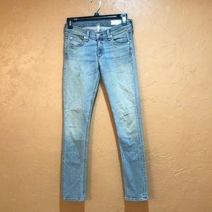 Rag & Bone Capri Skinny Jeans Size 24